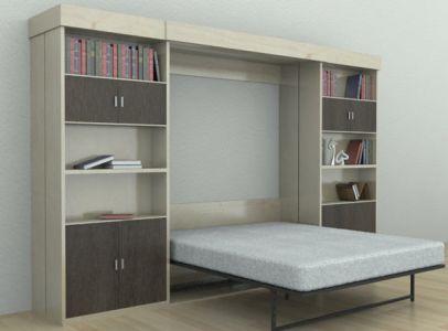 Шкаф-кровать (двуспальная)
