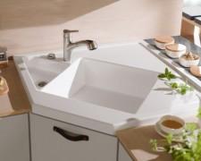 Обзор угловых кухонных моек: фото, дизайн, варианты установки и схема крепления