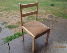 Делаем детский деревянный стульчик своими руками