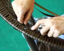 Руководство по реставрация стульев из ротанговой сетки