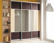 Наполнение дверей раздвижной системы: дизайн дверей шкафа-купе