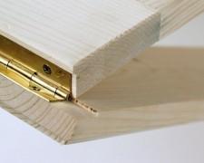 Рояльные петли: где применять и как устанавливать?