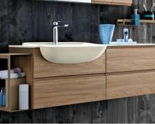 Фото обзор тумбочек для ванной комнаты