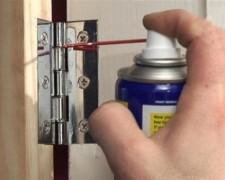 Скрип петель после силиконовой смазки