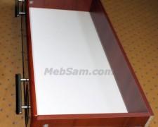 Сборка выдвижного ящика при помощи шкантов и минификсов