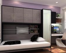 Стильные шкафы-кровати (трансформеры) от ИКЕА