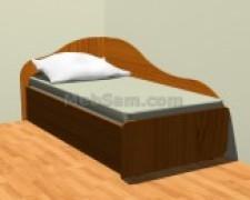 Как сделать односпальную кровать своими руками: чертежи, инструкция