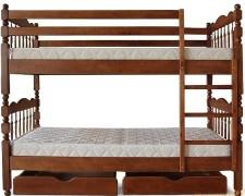 Особенности и виды двухъярусных кроватей-трансформеров