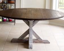 Реставрируем старый круглый стол своими руками