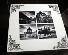 Реставрация журнального стола методом декупажа: фото и видео этапов