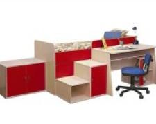 Корпусная мебель для детской комнаты: варианты выбора, фото