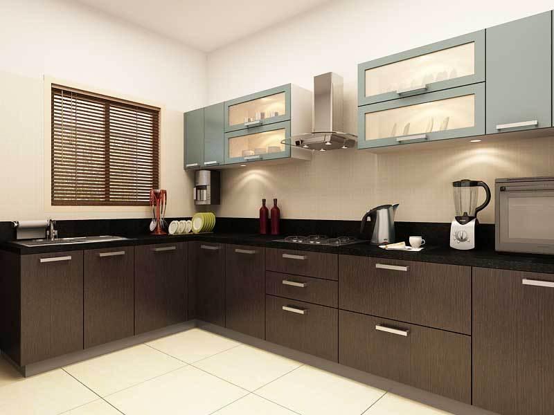 Бюджетная угловая модульная кухня