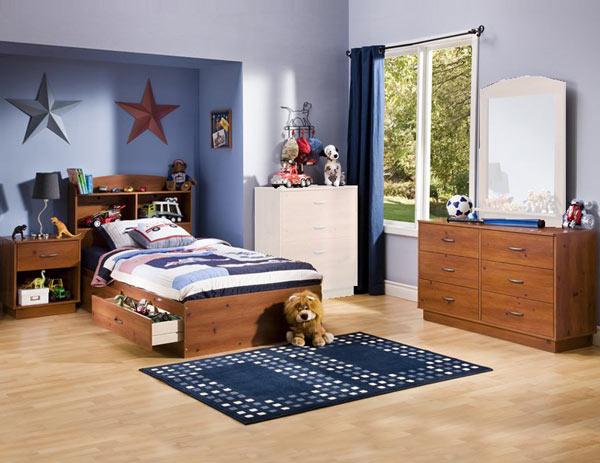 Удобная мебель в комнату для мальчика