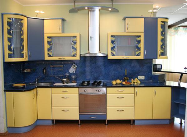 Сборный кухонный модуль