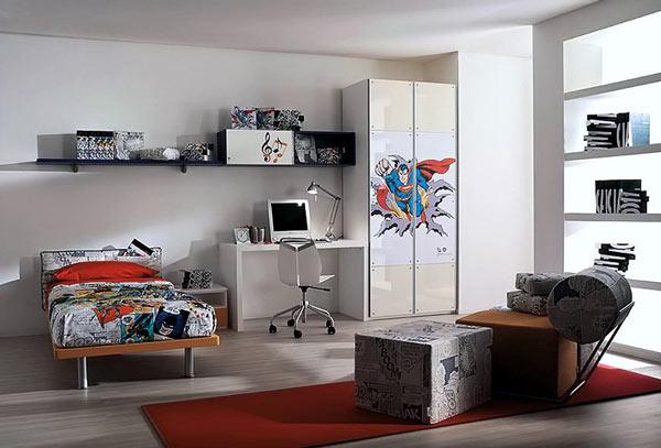Организация пространства в комнате
