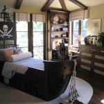 Кровать - пиратский корабль