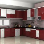 Угловая модульная кухня