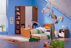 Корпусная мебель в детской