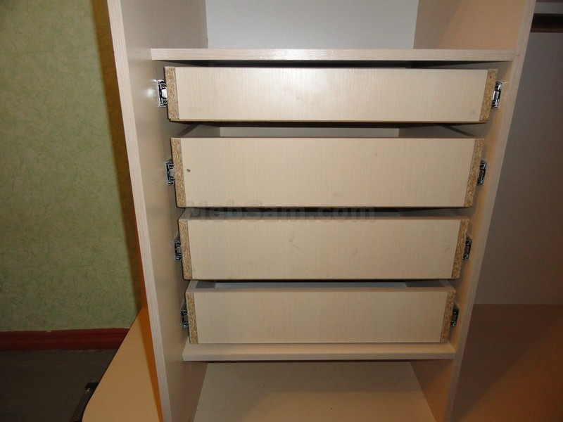 Шкаф с ящиками своими руками