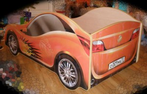 Детская кровать машина своими руками
