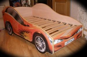 Фото кровати машины сделанной своими руками