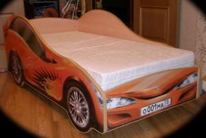 Фото детской кровати машины, которую можно сделать своими руками