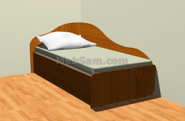 Кровати своими руками чертежи размеры