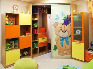 Детский шкаф купе