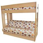 Виды двухъярусных кроватей. Основные критерии выбора