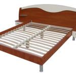 Кровать с ортопедическим основанием на ламелях