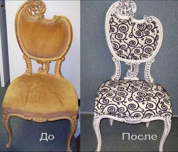 Реставрация старого стула своими руками