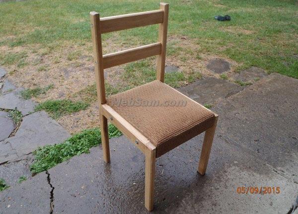 Детский деревянный стульчик своими руками
