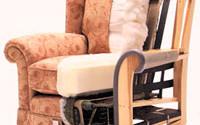 Ремонт и перетяжка старого кресла