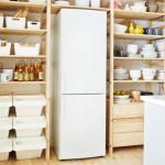 Стелажи с местом под холодильник