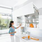 Обзор мебельной фурнитуры BLUM, подъемных и выдвижных механизмов для кухонь