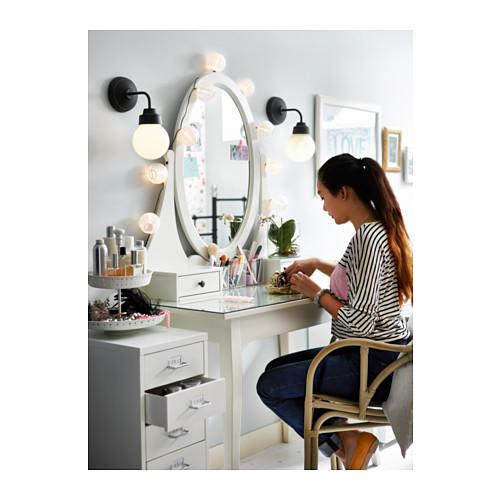 Ikea vanities bedroom
