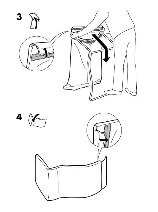 Инструкция по сборке кресла ИКЕА PELLO