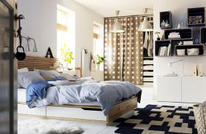 Мебель для спальни от ИКЕА. Обзор популярных серий