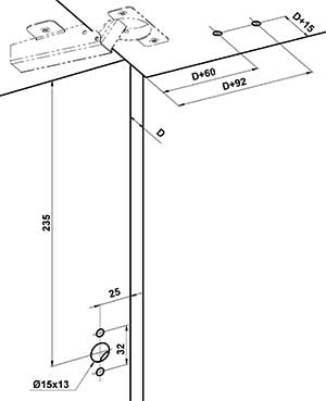 Монтаж газового амортизатора