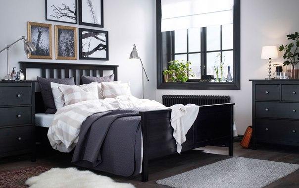 Спальня ИКЕА ХЭМНЭС
