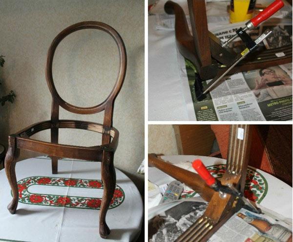 Разборка стульев