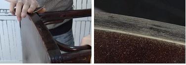 Пометка стульев во время разборки