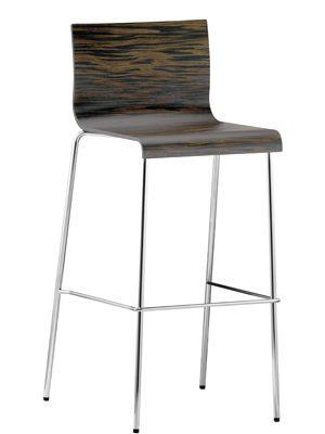 Барный стул из металла и пластика