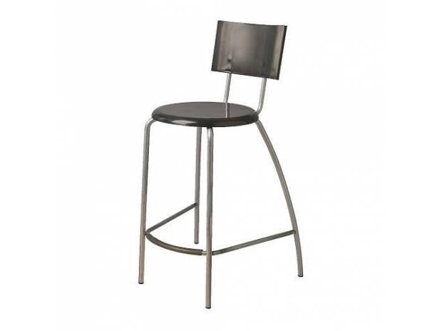 Черный барный стул