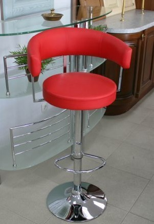 Мягкий барный стул ИКЕА
