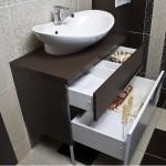 Бельевая тумбочка для ванной