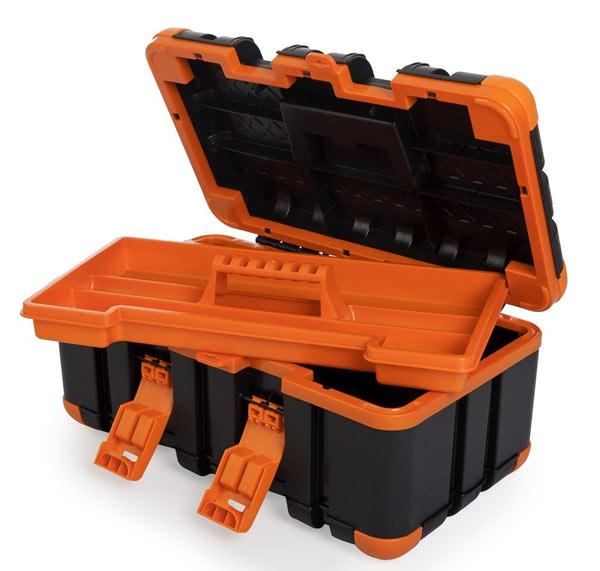Пластиковый инструментальный ящик