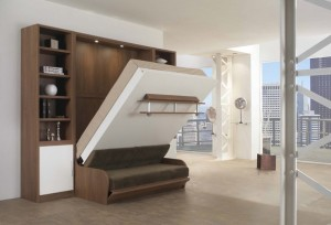 Шкаф-кровать + диван