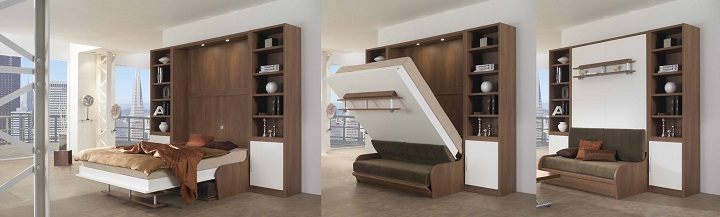 Шкаф-кровать-диван трансформер