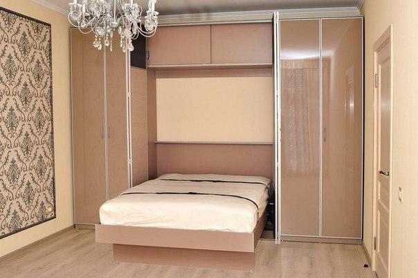 Шкаф-кровать двуспальная